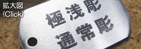 ダイヤ刃刻印 拡大図)